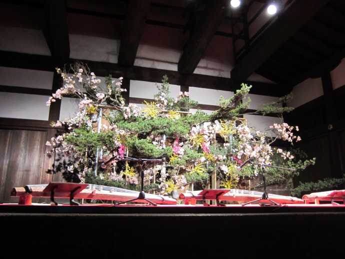 Koto Stage Presented by Ikenobo