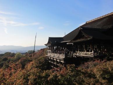 Kiyomizudera in fall