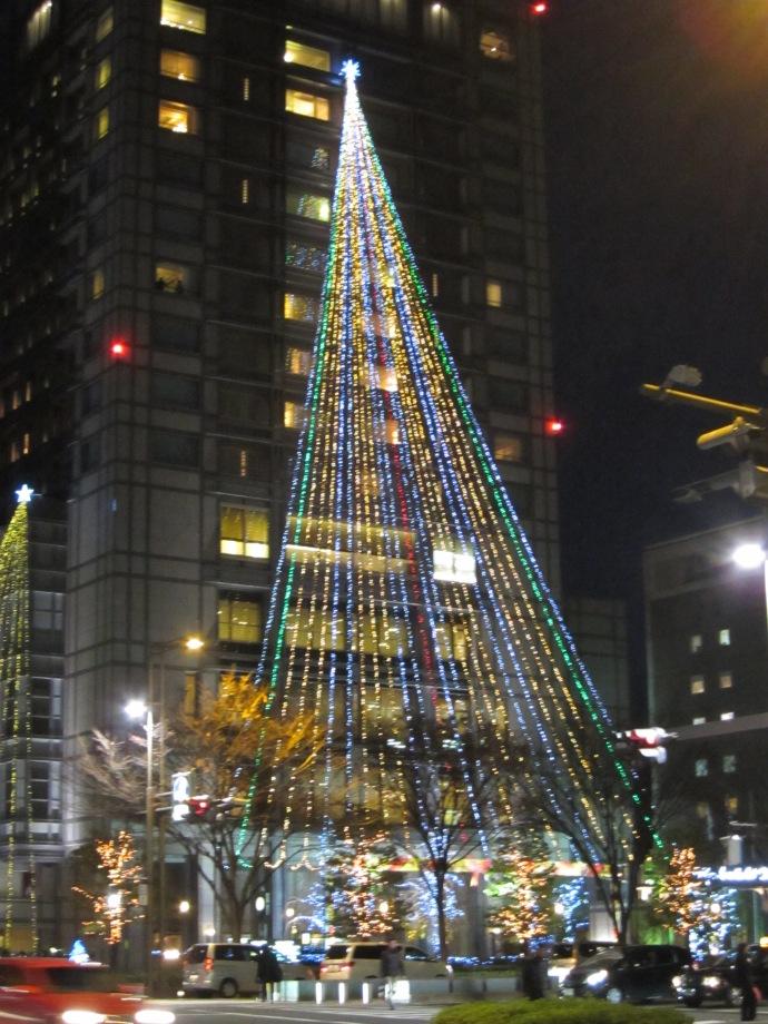 Christmas Illumination at Kyoto Hotel Okura