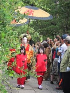 Dayu Dochu at Kodaiji Temple