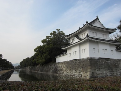Nijo Castle in Winter