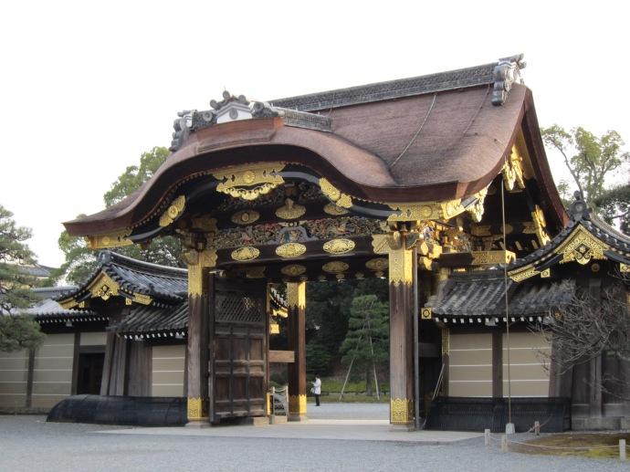 Nijo Castle in Winter