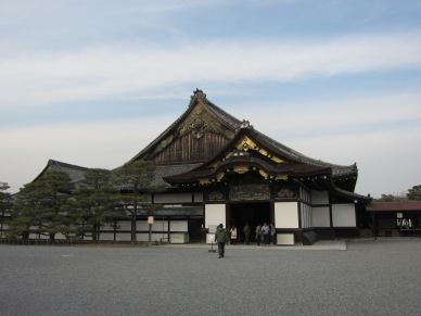 Ninomaru Goden at Daytime