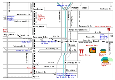 PARASOPHIA Map